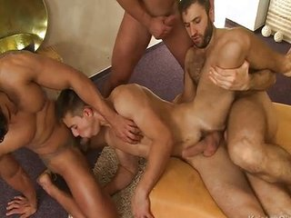 Old And Young Double Penetration Gangbang