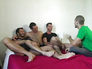 Threesome Fuck With A Toy