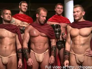 Vintage Groupsex Muscled