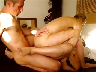 double bareback hardcore with   guys