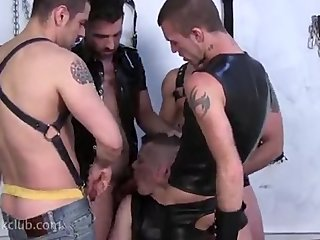 Brandon, Jessy, Morgan, Dominic and Blue Raw Fucking