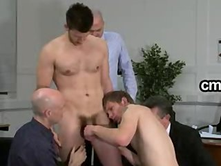 Office Old And Young Gangbang