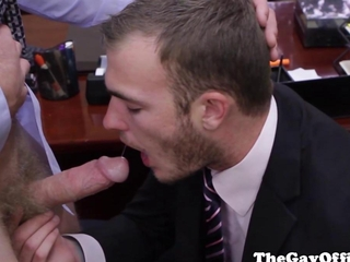 Video from: hardsextube | Colby Keller in the office sucking boss
