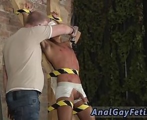 Gay hairy grandpa fucks twink Slave Boy Made To Squirt