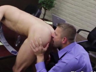 Video from: hardsextube | Gay office stud getting fucked by his boss