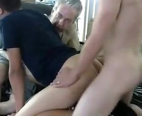 2 Young Guys And Not Their Grandfather Have Sex 1st Time