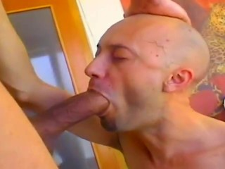 Deepthroat Big Cock Blowjob
