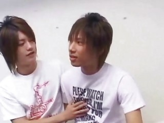 Two Japanese gay teens gets started