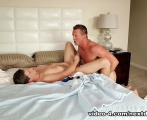 Preston Burgess & Pierce Hartman in Sniffing My Mom's Boyfriend XXX Video