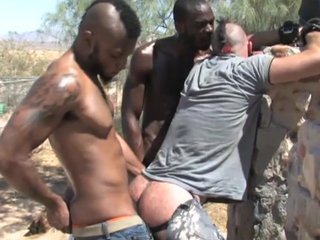 Forced Interracial Outdoor