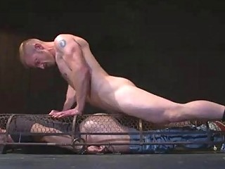 Helpless and Caged like an Animal  Gay BDSM