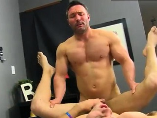Young boys feet gay sex first time Brock Landon is thinking