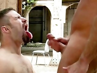 Big Cock Cumshot Outdoor