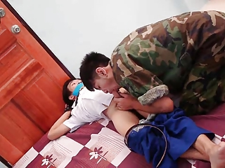 Amateur Army Asian