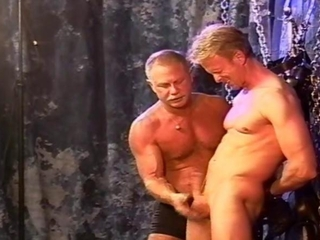 Gay BDSM action is what they love the most