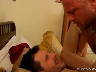 Hairy Daddy Chad Brock Anal Anniversary Attraction With BF