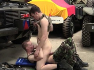 Army Blowjob
