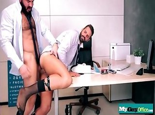 bodybuilder, homosexual, horny, office