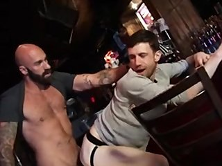 Bearded Fucking at The Bar