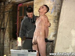 Hairy black big dick gallery gay Poor Leo can't escape as the magnificent