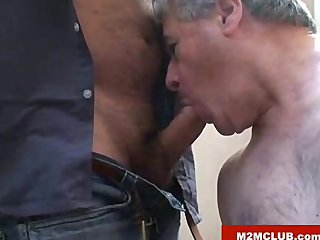Older Mature Blowjob