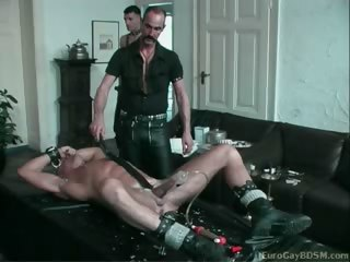 amateurs, bdsm, blonde boy, colt, european
