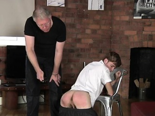 bodybuilder, homosexual, huge dick, old plus young, spanking