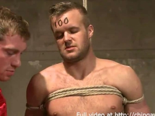 Alex Adams and Connor Patricks in a bdsm orgy