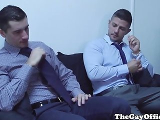 Video from: redtube | Muscular office hunk eats and fucks ass