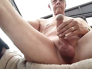 Older Masturbating Mature