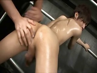 Cute Gay Gets Fucked