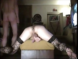 Video from: xhamster | Crossdresser Creampie