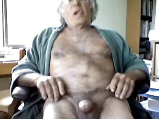 Older Webcam Masturbating