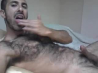 Str8 Arab Wank and Cum Eating