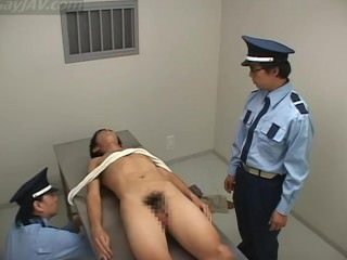 Anal Shaving of Prisoner by Guards