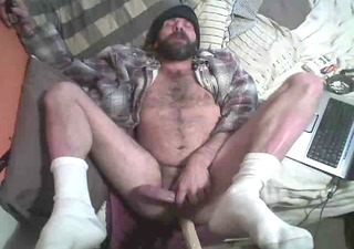 Daddy Hairy Dildo