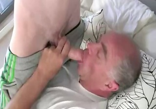 Old And Young Daddy Mature
