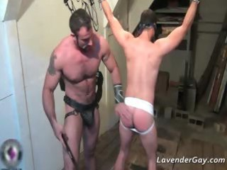 kinky sadomasochism homo scene with flogging part6