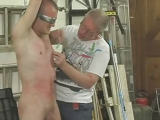 Video from: sunporno | hawt homosexual hunk gets tied blindfolded and dominated