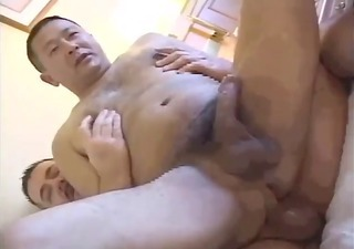 Mature Riding Asian