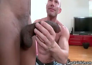 hardcore a-hole fuck for muscled gay stud homosexuals