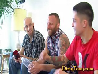 Derek Parker Double Stuffed - Free Gay Porn well-nigh Dirtytony - vid 109214