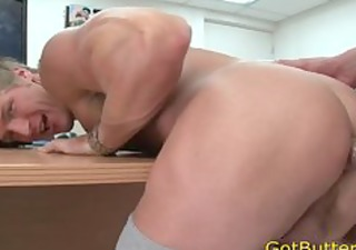 muscled blonde sucks and bonks homo porn part6