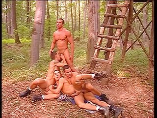 Vintage Blowjob Groupsex