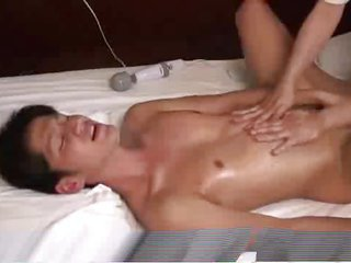 Sensual massage acquiesce chinese guy