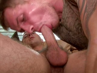 Str8 pool boy is paid to take married men cherry-