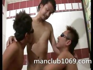 group ass2mouth asian men ass2mouth in the bathtub