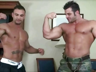 Dual muscle worship