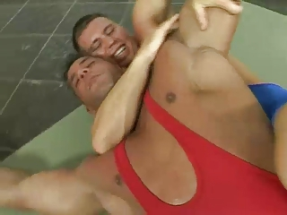 Video from: xhamster | Mark Summers vs Rick Bauer Wrestling