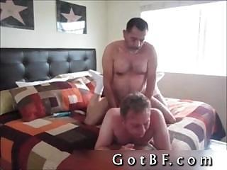 Bearded Daddy Fucks His Lover In The...